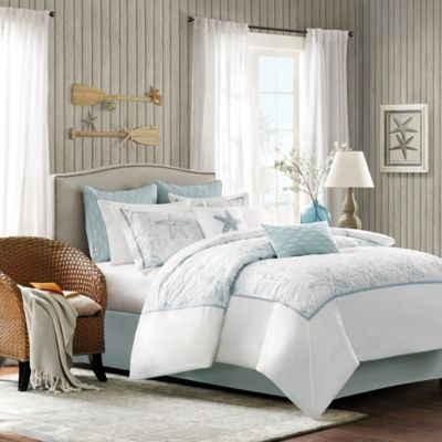 Harbor House™ Maya Bay Queen Comforter Set in White