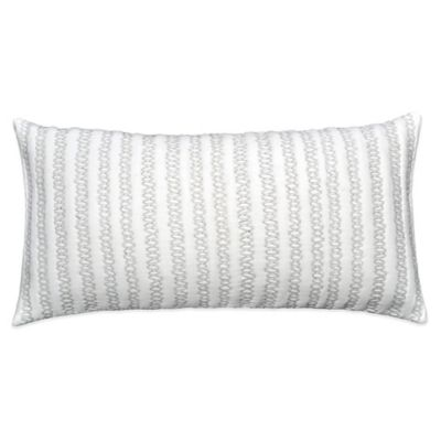 DKNYpure Pure Indulge Oblong Throw Pillow in White