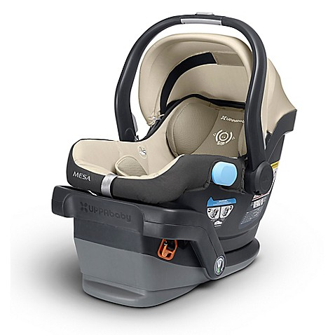 buy uppababy mesa infant car seat in lindsey from bed bath beyond. Black Bedroom Furniture Sets. Home Design Ideas