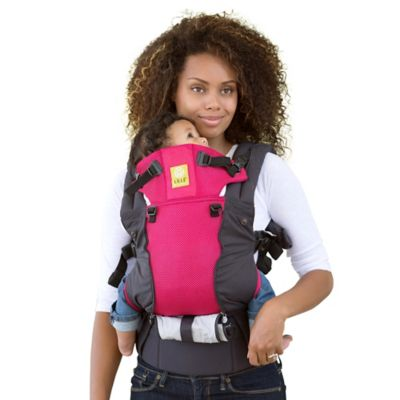 LILLEbaby® COMPLETE ALL SEASONS 6-in-1 Baby Carrier in Charcoal/Berry