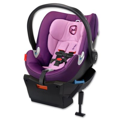 Cybex Aton Q Infant Car Seat in Grape Juice