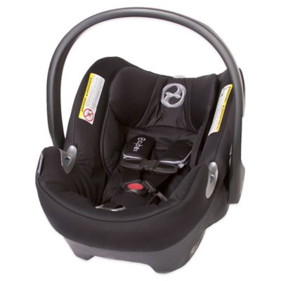 Cybex Aton Q Infant Car Seat in Black Beauty