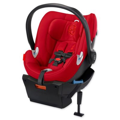 Cybex Platinum Aton Q Infant Car Seat in Hot and Spicy