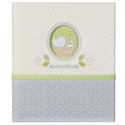 "C.R. Gibson Nest ""Welcome Little One"" Loose Leaf Memory Book"
