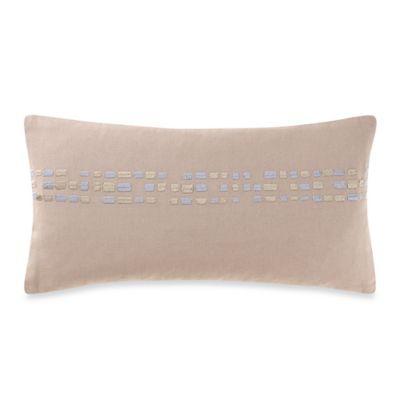 Barbara Barry® Interlace Boudoir Throw Pillow in Dune