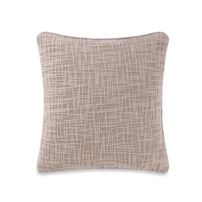Barbara Barry® Interlace Square Throw Pillow in Sand