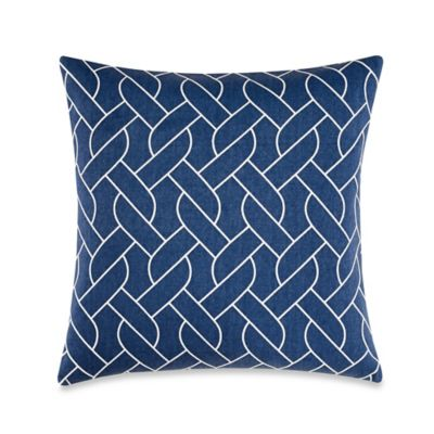 Nautica® Makay Square Throw Pillow in Navy