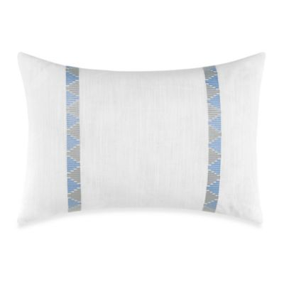 Nautica® Makay Breakfast Throw Pillow in White/Aqua