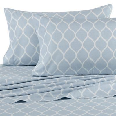 Nautica® Makay Twin Sheet Set in Aqua