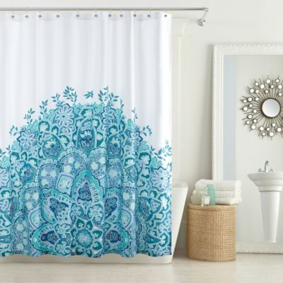Anthology™ Kaya 54-Inch x 78-Inch Stall Shower Curtain