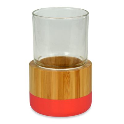 DKNY Color Block Bamboo Tumbler