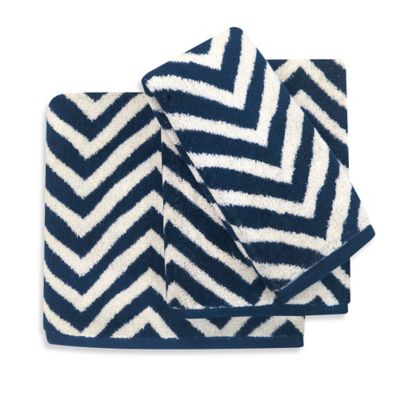 Chevron 2 Fingertip Towel