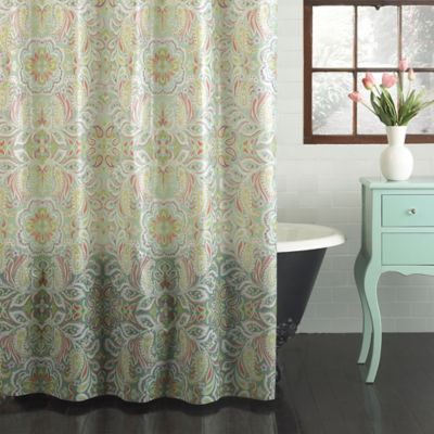 Isla PEVA Shower Curtain