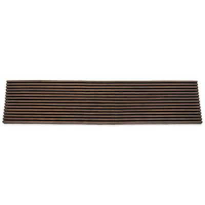 SLAT 9-Inch x 35-Inch Stair Mat in Brown