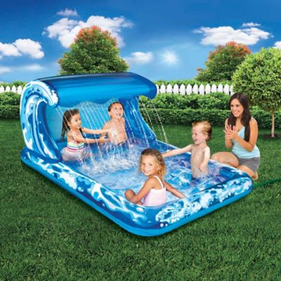 Big Wave Splash Park Inflatable Spray Pool