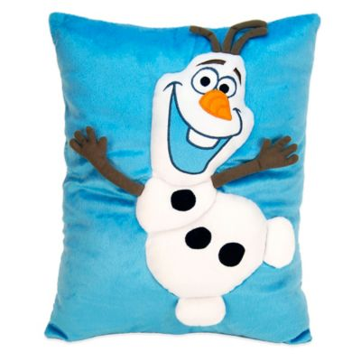 Disney® Frozen Olaf Embroidered Applique Snuggle Pillow