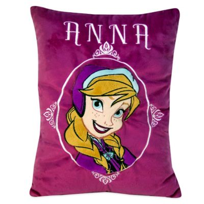 Disney® Frozen Anna Embroidered Applique Snuggle Pillow