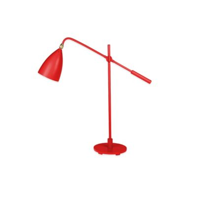 Kenneth Cole Reaction Home Counterbalance Table Lamp in Lipstick