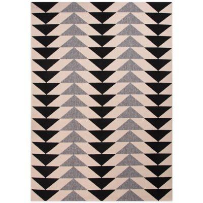 Jaipur Patio 2-Foot x 3-Foot 7-Inch Indoor/Outdoor Rug in Black/Grey