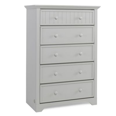 Fisher-Price® Lakeland 5-Drawer Chest in Misty Grey