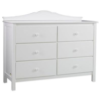 Dressers > Fisher-Price® Double Dresser in Snow White