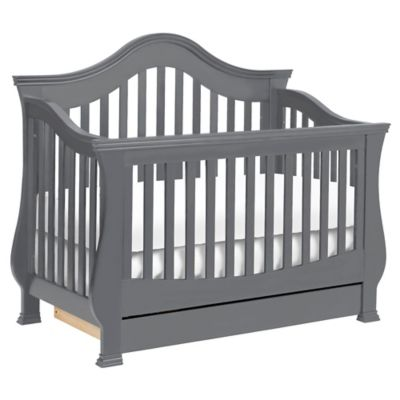 Million Dollar Baby Classic Ashbury 4-in-1 Convertible Crib in Manor Grey