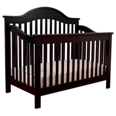 DaVinci Jayden 4-in-1 Convertible Crib in Ebony