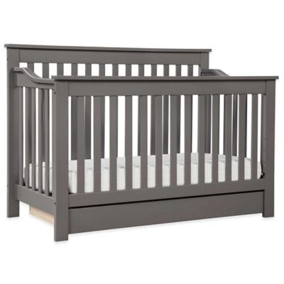 DaVinci Piedmont 4-in-1 Convertible Crib in Slate