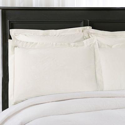 Wrap-Around Wonderskirt Standard Pillow Sham in Ivory