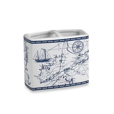 Cape Island Toothbrush Holder