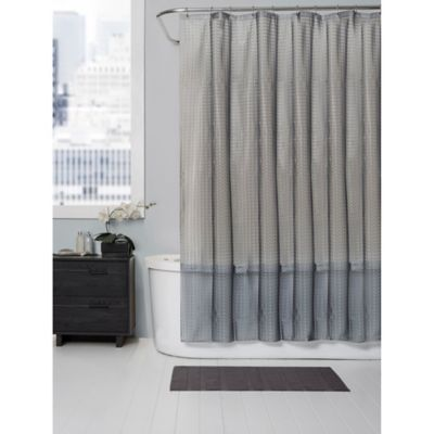 Baltic Linen® PEVA Squares Shower Curtain