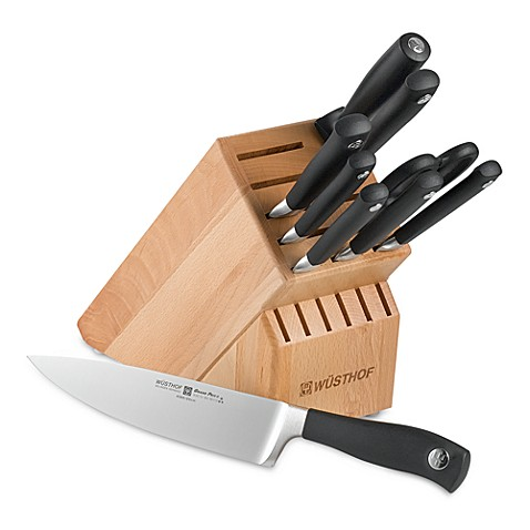 Wusthof® Grand Prix II 10-Piece Knife Block Set