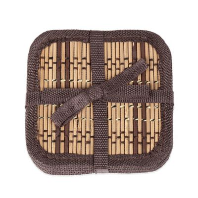 Bamboo Coasters (Set of 6)