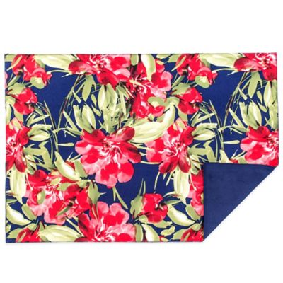 Bahama Botanical Reversible Placemat in Blue