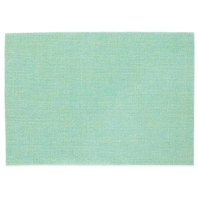 Serene Woven Vinyl Placemat in Green