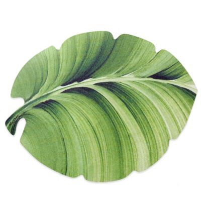 Tropical Leaf Laminated Placemat
