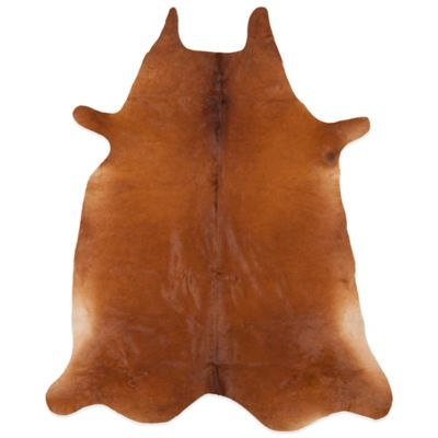 Safavieh Gaucho 4-Foot 6-inch x 6-Foot 6-Inch Cowhide Rug in Brown