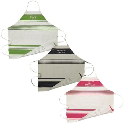 kate spade new york Diner Stripe Apron in Pink