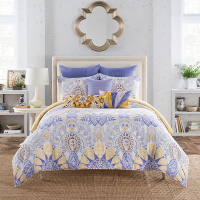 Anthology™ Lyla Reversible King Comforter Set