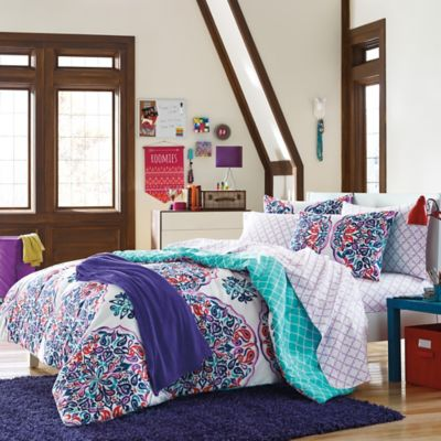 Samantha 7-Piece Twin/Twin XL Dorm Kit in Multi