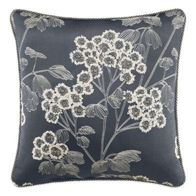 Croscill® Paloma Reversible Square Throw Pillow