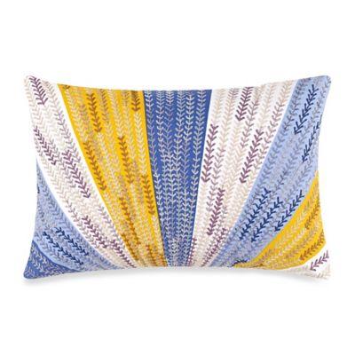 Anthology™ Lyla Sunburst Oblong Throw Pillow