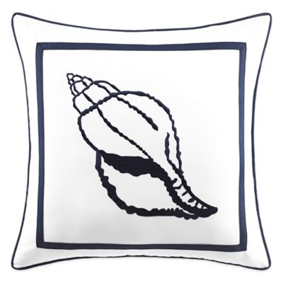 Croscill® Montego Bay Square Throw Pillow in White