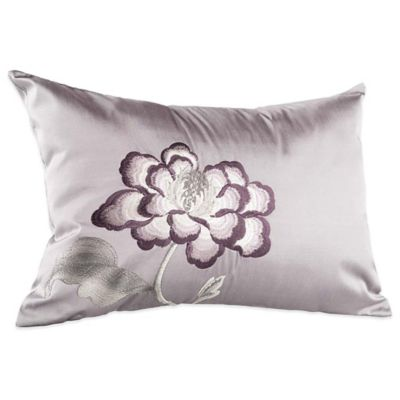 Charisma Eve Oblong Throw Pillow in Lavender