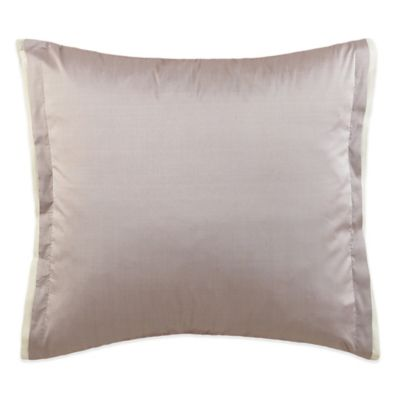 Charisma Eve Square Throw Pillow in Lavender