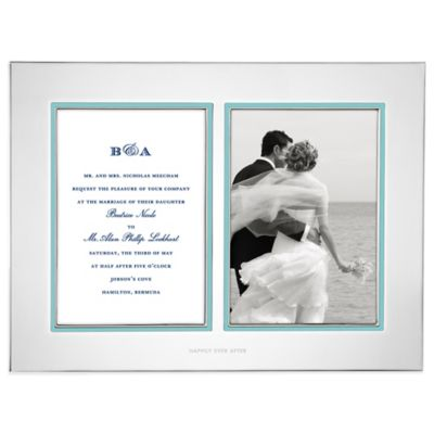 kate spade new york Take the Cake™ Double Invitation Frame