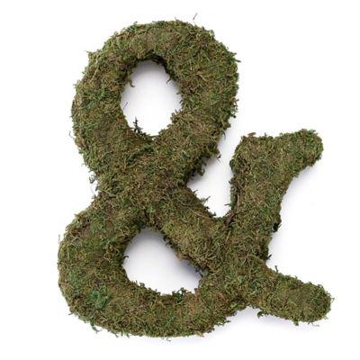 """Lillian Rose™ Moss Monogram """"Ampersand"""""""