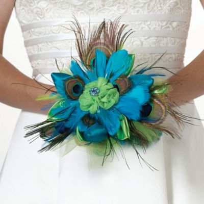 Lillian Rose™ Peacock Bouquet