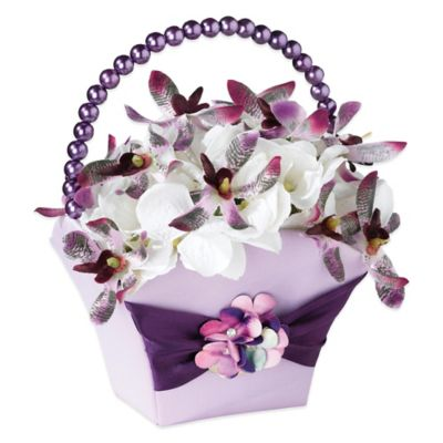 Lillian Rose™ Radiant Flower Basket