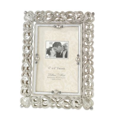 Lillian Rose™ Regal Elegance 4-Inch x 6-Inch Frame
